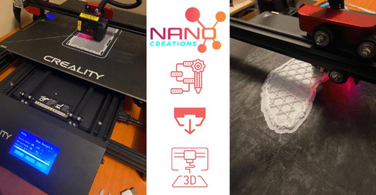Nano Creations - 3D print jobs